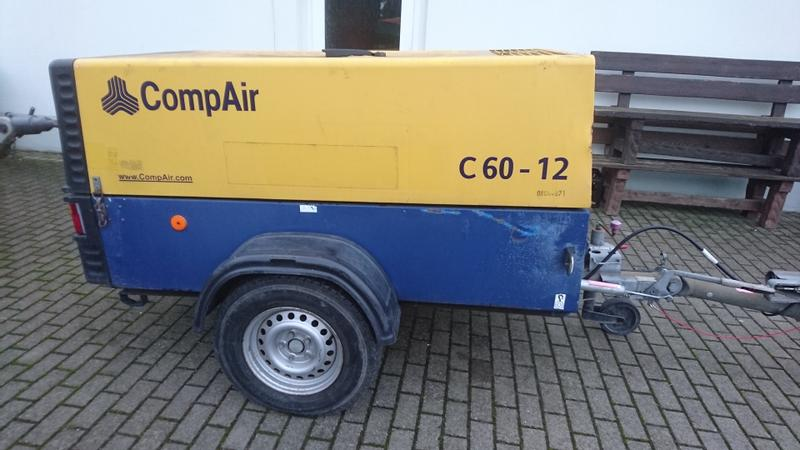 Comp Air C60-12 mobiler Kompressor