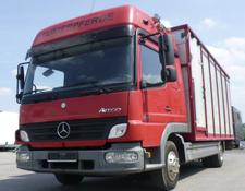 Mercedes-Benz Atego 818L Vieh/Pferdetransporter 7,49to VOLLALU