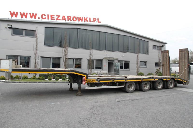 WIELTON LOW LOADER NJ52 4 AXLES