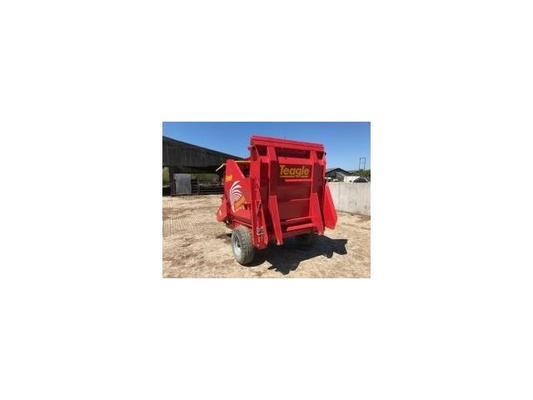 Teagle 2014  8150 Straw Chopper