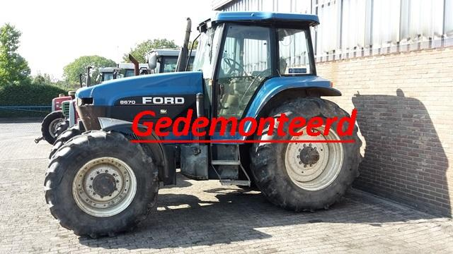 New Holland 8670 A
