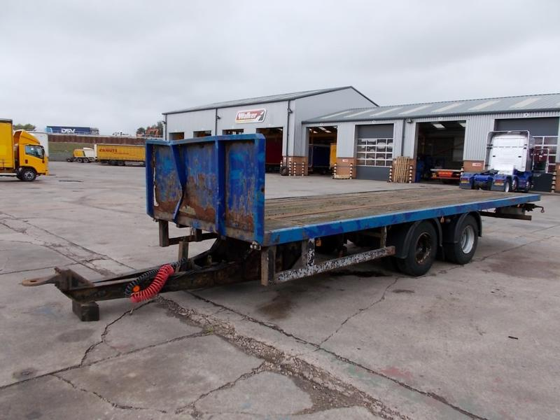 FROMCO TANDEM AXLE DRAWBAR FLATBED TRAILER - 1989 - A115885