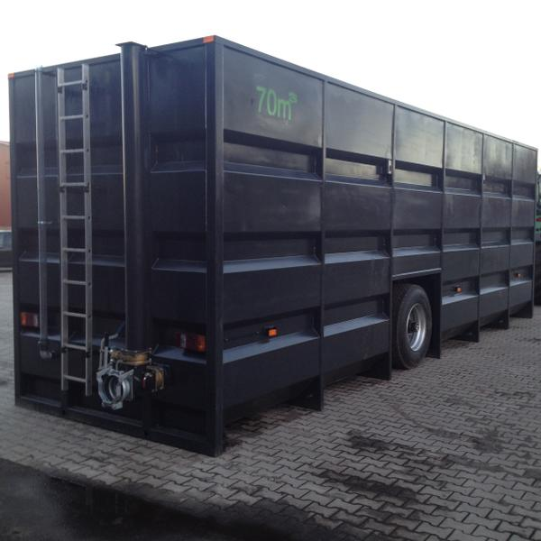 Güllecontainer Feldrand 75 cbm3