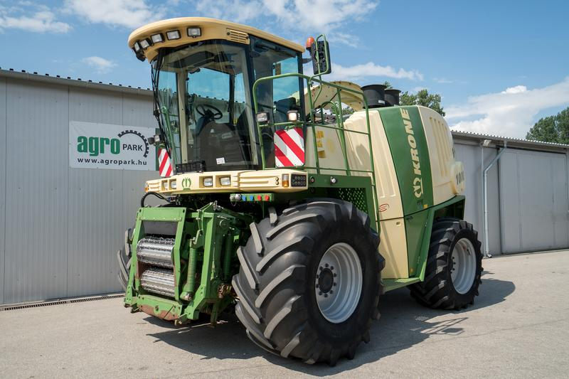 Krone Big X 1000 4WD (1241/1759 BStunden), 2 x 510 PS Mercedes
