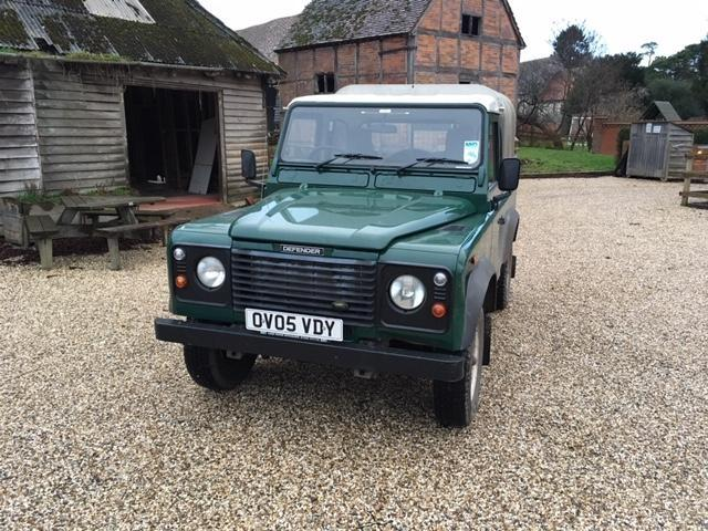 Land Rover DEFENDER 90 PICK-UP TD5