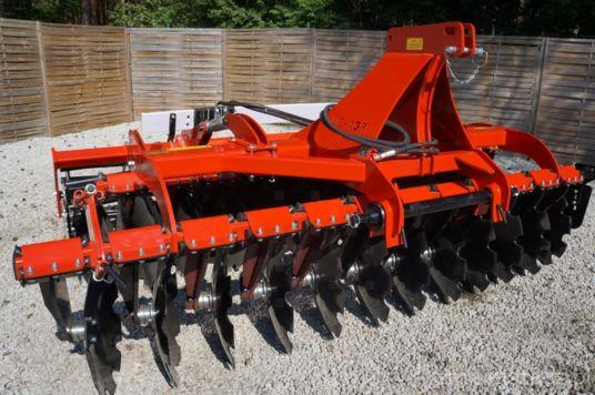 Mc-Agri Brona talerzowa 3,0; disc harrow; grape cu disc
