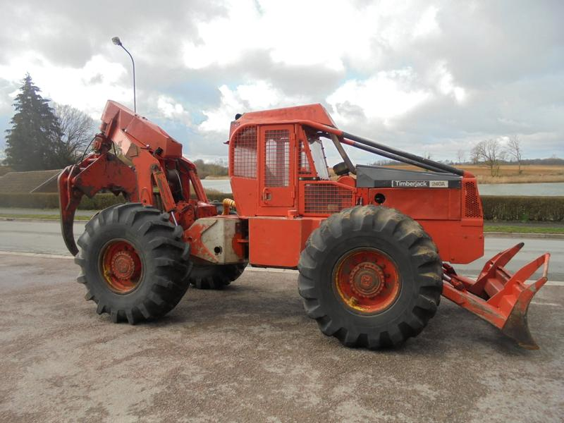 Timberjack 240 A GRAPPLE