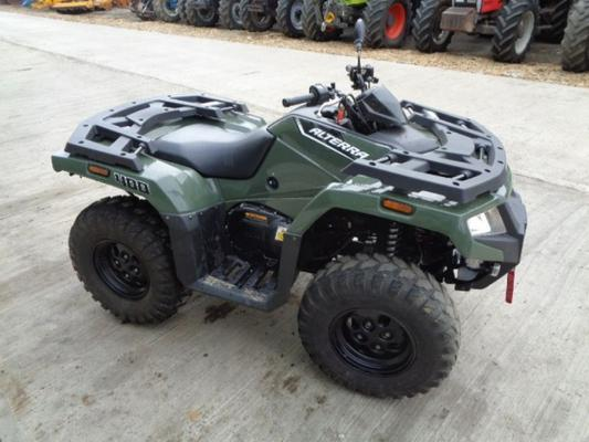 Caterpillar Used Artic Cat Alterra 400cc Quad Bike