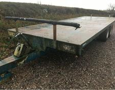 Warwick 22ft 8t bale trailer