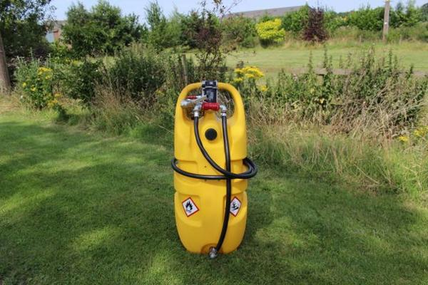 Holder 55 LITRE & 110 LITRE DIESEL MOBILE FUEL TANKS