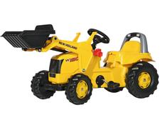 025053 Rolly Toys New Holland Construction mit Kid Lader aufklappbare Motorhaube