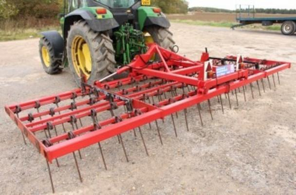 WEAVING 6M HYDRAULIC FOLDING STUBBLE RAKE