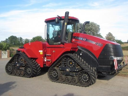 Case Case Quadtrac 450