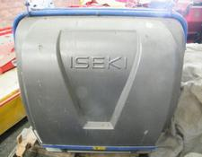 Iseki mower collector, with hydraulic lift for sale.