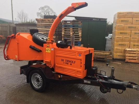 T5006296 - Timberwolf TW190TDHB Woodchipper
